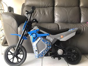 Pulse Performance Products EM-1000 E-Motorcycle in Blue for Sale in Miami, FL