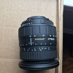 Sigma 28-200mm F 3.8-5.6 For Nikon for Sale in Arlington, TX