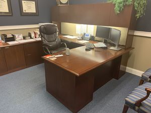 Large office desk for Sale in Norcross, GA