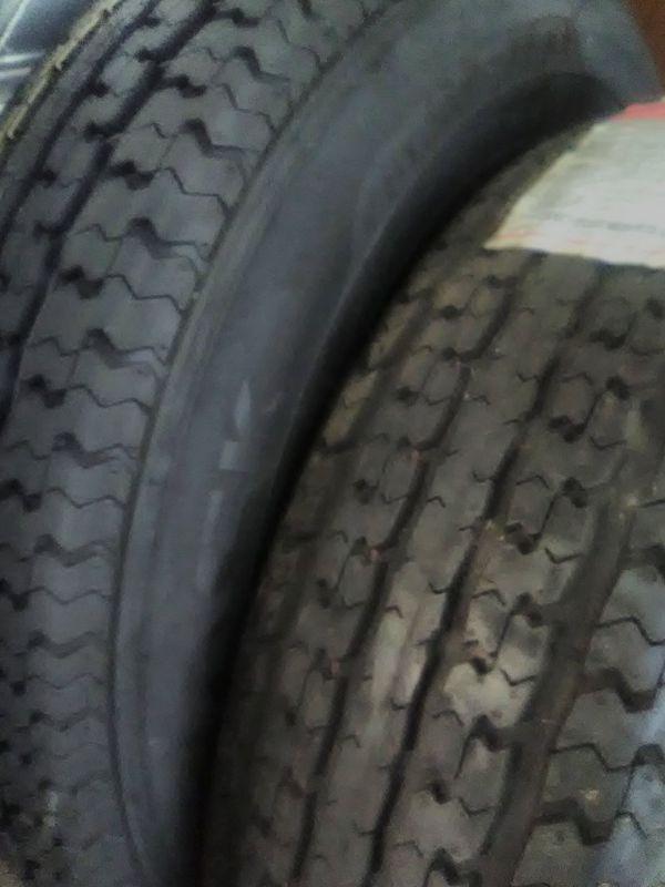 205-75-15 8 ply trailer tire each