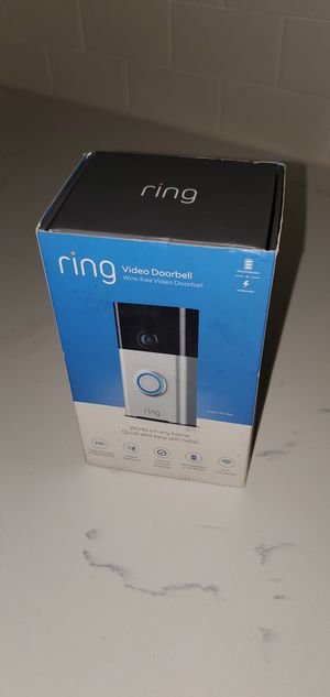 Ring doorbell *new* for Sale in Fort Lauderdale, FL