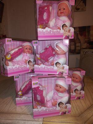 Sweet baby doll set for Sale in San Bernardino, CA