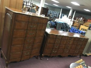 Beautiful French Provincial wood dressers for Sale in Manassas, VA