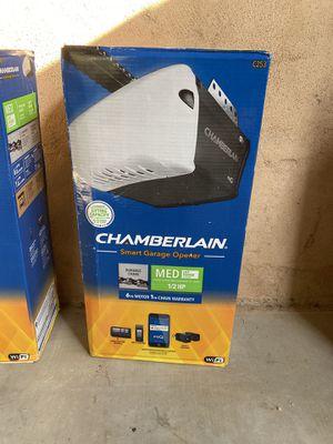 Chamberlain 1/2 HP Smart Garage Door Opener for Sale in Delano, CA