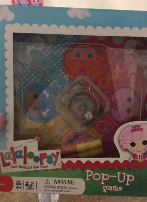 Lalaloopsy pop up game for Sale in Azle, TX