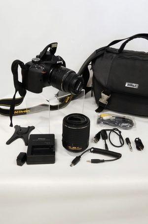 NIKON D3200 24.2 megapixel DSLR Bundle for Sale in Rainier, WA
