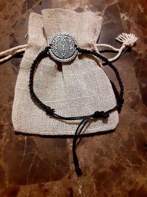 Hadmade bracelet whit aztec calendar print 925. for Sale in San Leandro, CA