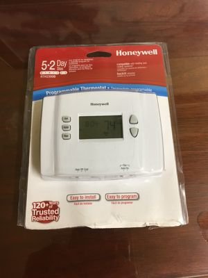New Honeywell 5.2 Programmable Thermostat for Sale in Lexington, MA