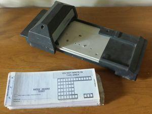 Credit Card Imprinter SLIDER Bartizan model CM 2020 for Sale in Apex, NC