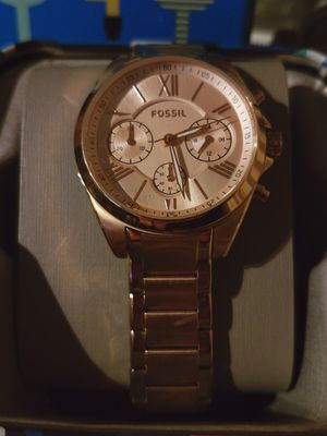 Womens rose gold Fossil for Sale in Minocqua, WI