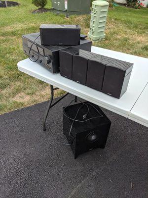 Receiver and 5.1 speakers for Sale in Fredericksburg, VA