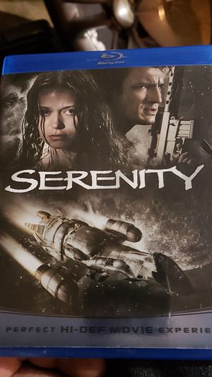 Serenity blu-ray movie for Sale in Portland, OR