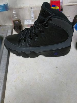 Retro Jordans 9s boots a size 10 for Sale in Washington, DC