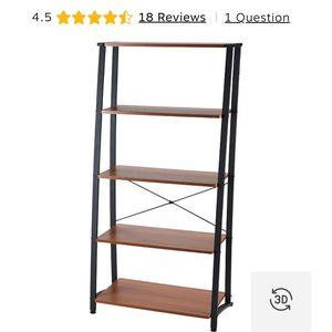 Gillespie 5-Shelf Ladder Design Bookcase for Sale in Las Vegas, NV
