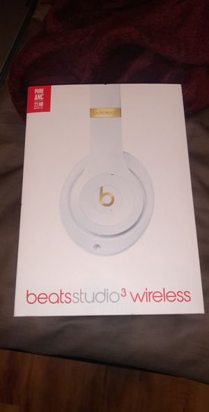 Brand new white/gold Beats Studio Wireless 3.0 No scratches!! for Sale in Ontario, CA
