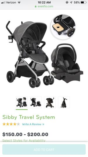 Sibby Travel System for Sale in Rehoboth, NM
