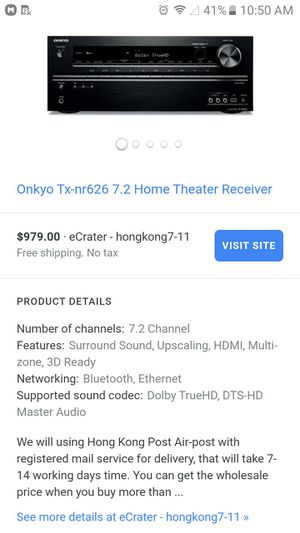 Onkyo receiver NICE for Sale in Indianapolis, IN