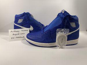 Jordan 1 High Hyper Royal Size 12 for Sale in Manorville, NY