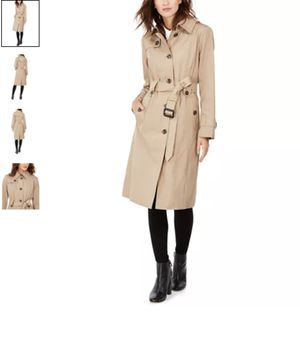 London Fog hooded maxi trench coat for Sale in Ruston, LA
