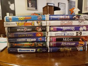 Disney VHS Classics for Sale in Creedmoor, NC