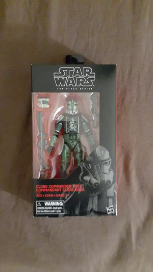 Star wars black series clone commander gree mib for Sale in Goodyear, AZ