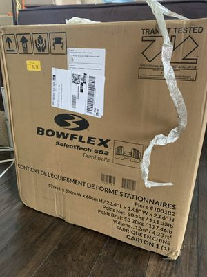 BowFlex SelectTech 552 Dumbbells for Sale in Los Angeles, CA