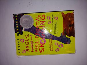 Angus, thongs, and full frontal snogging book for Sale in San Antonio, TX