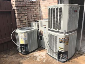 A/C unit compressor and inside unit for Sale in Cypress, TX