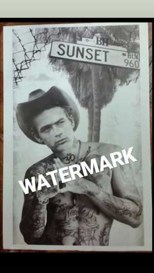 James Dean tattoo print for Sale in Garden Grove, CA