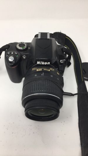 Nikon D60 digital camera with extra lens, case, charger, SIM card for Sale in Irvine, CA