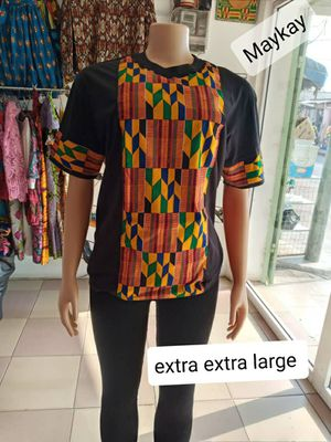 Unisex shirt with quality African print combination for Sale in Baltimore, MD