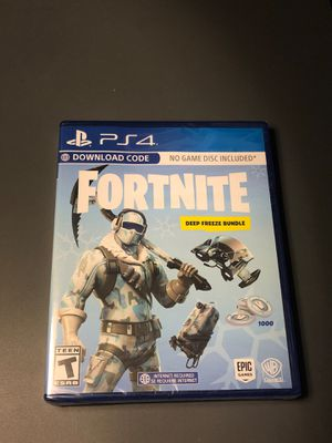 Fortnite ps4 deep freeze bundle NEW sealed for Sale in Union City, CA