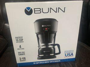 Bunn Speed Brew Coffee Maker 10 cup for Sale in Glendale, AZ