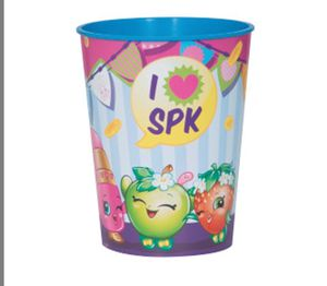 SHOPKINS- plastic cup for Sale in San Lorenzo, CA