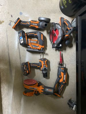 Ridgid 18V Cordless Power Tools for Sale in Spicewood, TX