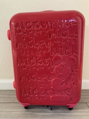 """Disney Mickey Mouse 23"""" Rolling Luggage- Small for Sale in Fremont, CA"""