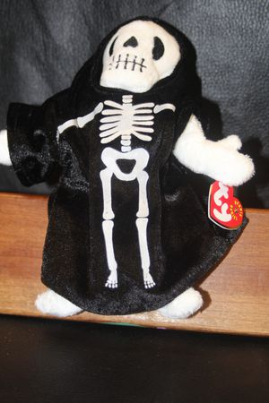 Creepers the skeleton ty beanie baby for Sale in Orlando, FL