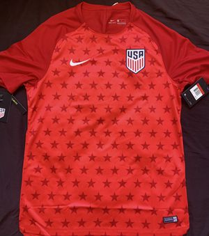 Team USA Men's Soccer Warmup Jersey L for Sale in Antioch, CA