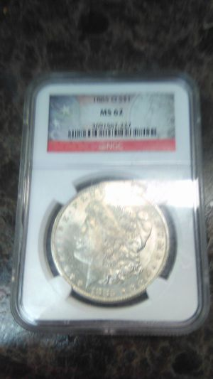 1885 MS 62 silver coin for Sale in Beechgrove, TN