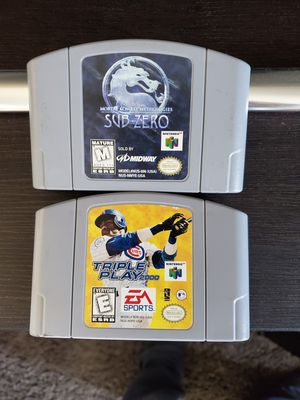 Nintendo 64 Games for Sale in Round Lake, IL