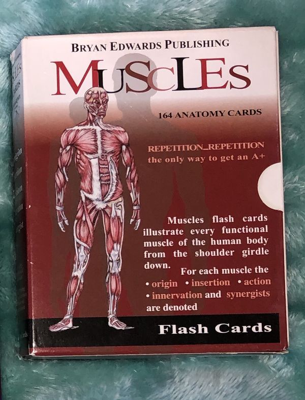 Physical Therapy Reference Books & Flashcards