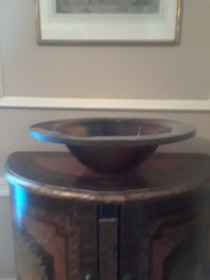 Tempered glass vessel sink for Sale in Greenville, MS