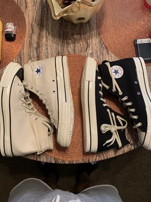 Fear of god x converse for Sale in Kansas City, KS