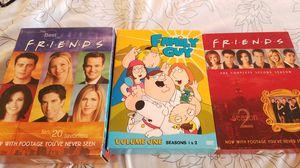 Friends family guy dvds for Sale in Fairview, NJ