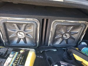 """12"""" l7 with new ported box they work perfect for Sale in San Jose, CA"""