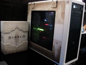 Custom Diablo 3 Gaming Computer Case for Sale in Walnut Creek, CA