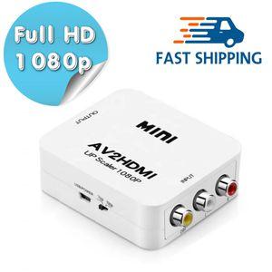 RCA to HDMI Converter Composite AV CVBS Video Adapter 720p 1080p Wii NES SNES for Sale in Everett, WA