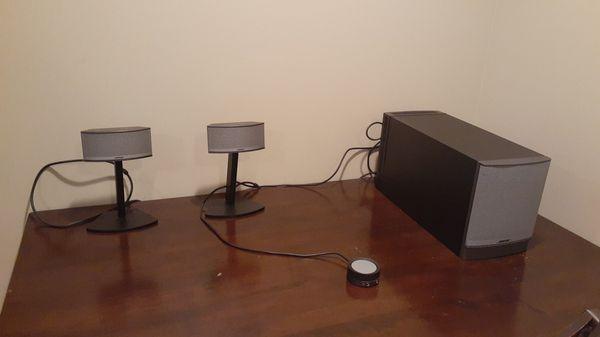 Bose Companion 5 speakers