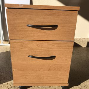 2 Drawer Organizer / With Wheels for Sale in Las Vegas, NV