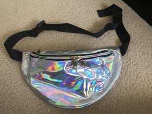 Holographic Fanny Pack ,Unisex for Sale in Chelsea, MA